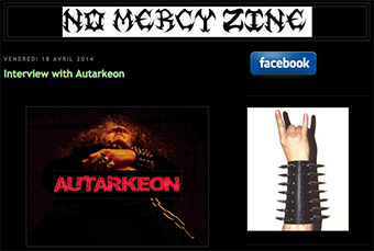 No Mercy Zine - Interview with AUTARKEON